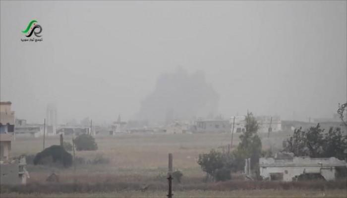 غارات روسية وسورية بحمص واشتباكات متفرقة