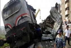 توقف حركة قطارات دسوق ـ طنطا نتيجة خروج قطار عن القضبان