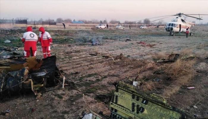 طهران: القبض على متورطين بحادث تحطم الطائرة الأوكرانية