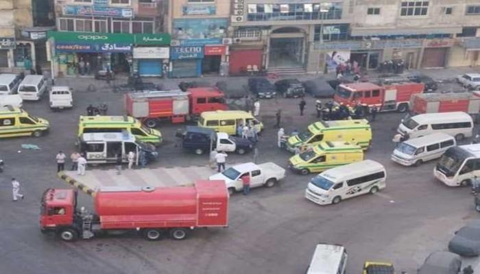 مصرع 7 من مصابي كورونا في حريق بمستشفى خاص في الإسكندرية