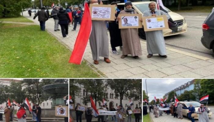 مظاهرات في سيدنى وبرلين وفرانكفورت وميونخ تطالب برحيل السفاح