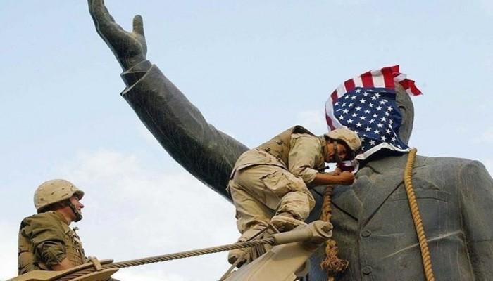 """""""علماء المسلمين"""": العراق تحت نفوذ أمريكي مذل وتغول إيراني"""