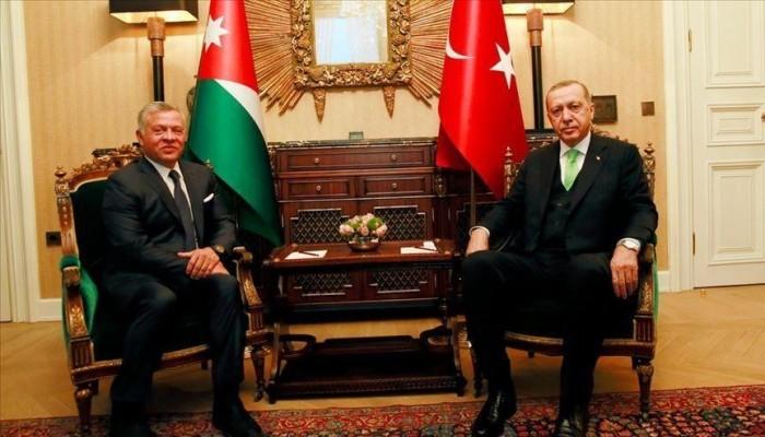 تركيا: ندعم بقوة الملك عبد الله الثاني