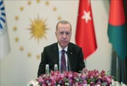 """أردوغان يدعو """"الثماني الإسلامية"""" لمواكبة المتطلبات الراهنة"""