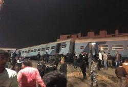 15 إصابة فى حادث قطار بالشرقية بعد خروجه عن القضبان