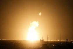 """غارات """"إسرائيلية"""" على قطاع غزة"""