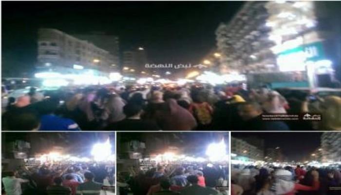 ثوار فيصل يتظاهرون رفضاً لحكم العسكر