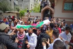 تشييع طفل فلسطينى بعد احتجاز الاحتلال جثمانه 3 سنوات