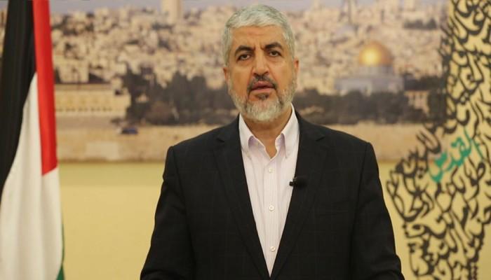 مشعل يدعو لتفعيل الانتفاضة في الضفة وجهوزية غزة للجم العدو