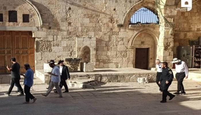 138 مستوطناً يقتحمون المسجد الأقصى  بحراسة شرطة الاحتلال