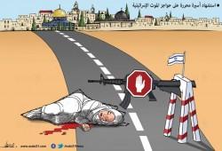 """""""حواجز الموت الإسرائيلية"""""""