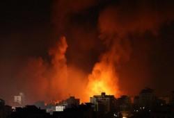 غارات إسرائيلية ليلية على مواقع للمقاومة في غزة
