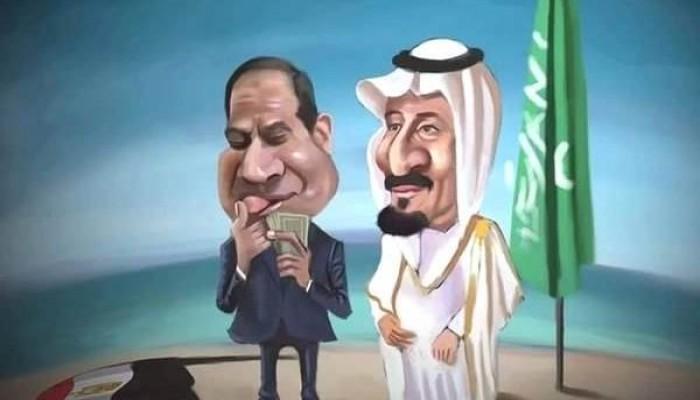 بعد أن باع السيسي الجزيرتين: قوات سعودية تطرد 3 سفن مصرية من محيط تيران وصنافير