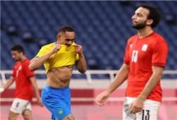 البرازيل تطيح بمصر خارج أولمبياد طوكيو
