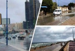 هذه المناطق تتعرض لفرص أمطار رعدية وتصل للسيول أحيانا حتى السبت المقبل